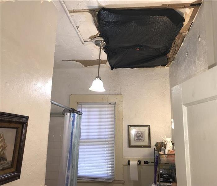 Nice Historic Home Damage by Mold-Ocala, FL Before