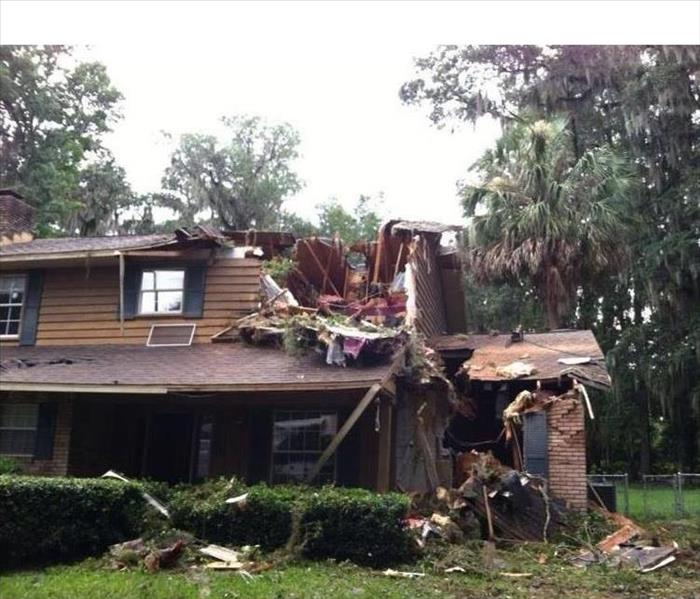 Strong Storm Tree Damage-Ocala, FL Before