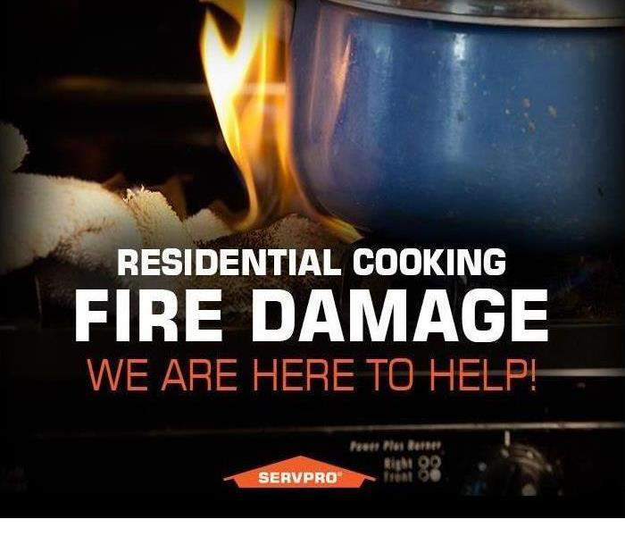Fire Damage Residential Fire-Cooking Tips