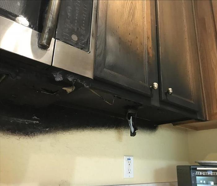 Fire Damage  Smoke & Soot Kitchen Fire in Ocala, FL
