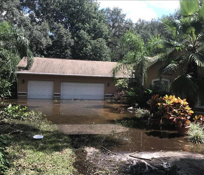 Storm Damage When Storms or Floods hit Ocala, SERVPRO is ready!